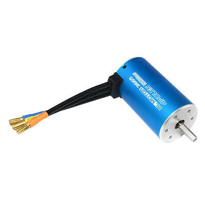 High Quality 3665 4Poles 3100KV Brushless Motor for RC Car Boat Durable US Y5Z4