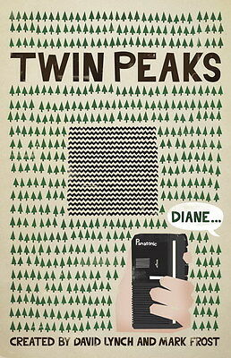 "003 Twin Peaks - Kyle MacLachlan Love Thriller USA TV Show 14""x21"" Poster"