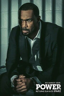 "007 Power - Omari Hardwick Action Thriller USA TV Show 14""x21"" Poster"