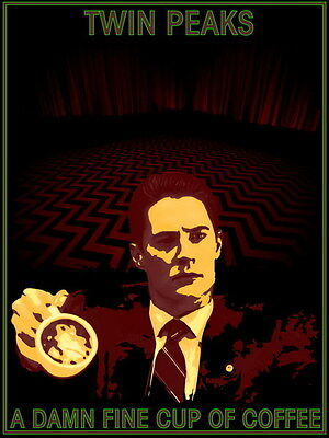 "030 Twin Peaks - Kyle MacLachlan Love Thriller USA TV Show 14""x18"" Poster"