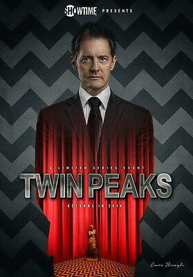 "024 Twin Peaks - Kyle MacLachlan Love Thriller USA TV Show 14""x20"" Poster"