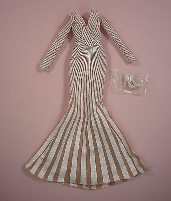 Jennifer Lopez Zuhair Murad Outfit - Just Off Doll -For  Barbie Model Muse Body