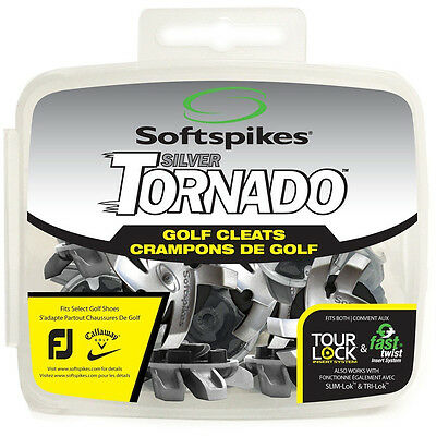 SOFTSPIKES Tornado GOLF SPIKES with Tour Lock system - 16 pcs with Spike Tool