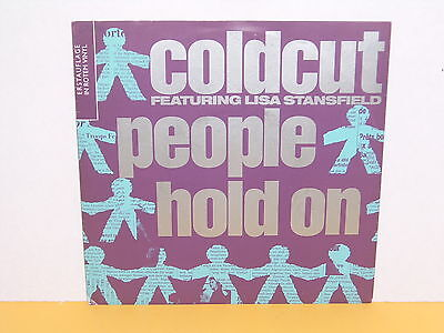 "Single 7"" - Coldcut Feat. Lisa Stansfield - People Hold On - Rotes Vinyl"