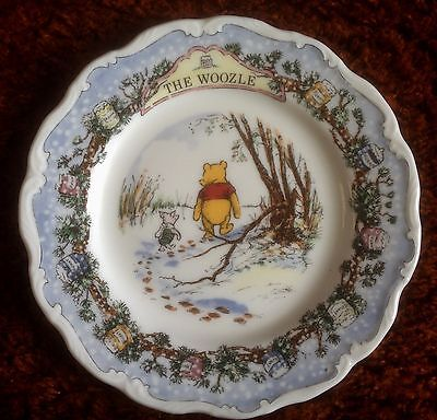 Royal Doulton. The Woozle. Winnie the Pooh Collection.  Plate