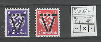 Germany , Post War Locals , Sagau X 2  Mnh Both Expertised Twice On Back