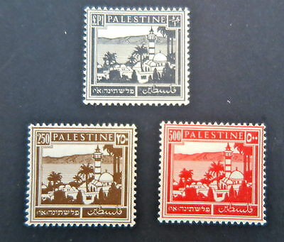 Palestine 1927 Stamps