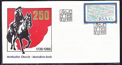 South Africa 1988 - Methodist Church 250 Years Souvenir Cover - Unaddressed