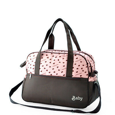 Baby Diaper Bags Tote Shoulder Bag Change Diaper Pad Travel HandBag Nappy Bags