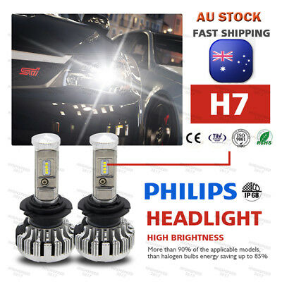 PHILIPS H7 260W 36000LM LED Headlight kit Driving Lamp  Globes Canbus ERROR FREE