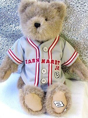 Boyds - NASCAR  Dale Earnhardt JR #8  Plush BEAR  With Baseball Jersey Quality