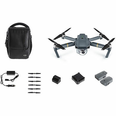 NEW DJI Mavic Pro Fly More Combo Quadcopter Drone - UK DISPATCH