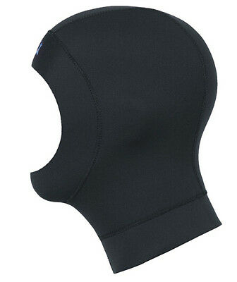 New Neoprene Scuba Diving Hood Hat 3mm Black