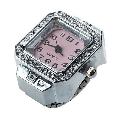 20mm Square Ring Watch Finger Watch Finger Ring Watch New TOP N2B8