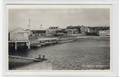 THE HARBOUR, CROMARTY: Ross-shire postcard (C28015)
