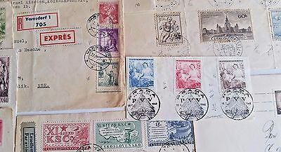 Czechoslovakia Cover Postcard stamp  Collection