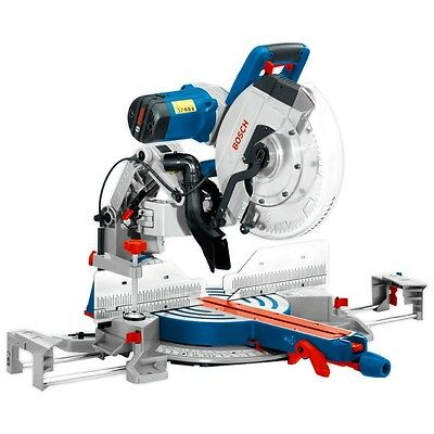 """Bosch GCM 12 GDL 1800W 305mm (12"""") Slide Compound Mitre Saw with T1B Saw Stand"""