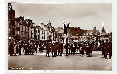 WAR MEMORIAL, ROTHESAY: Isle of Bute postcard (C28089)