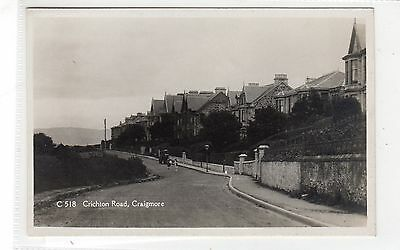CRICHTON ROAD, CRAIGMORE: Isle of Bute postcard (C28095)