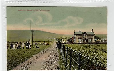DECHMONT RANGE AND HILL, CAMBUSLANG: Lanarkshiire postcard (C28412)