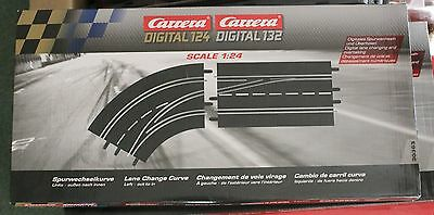 CARRERA DIGITAL 124 / 132 30363 Track change curve left / outside to inside NEW