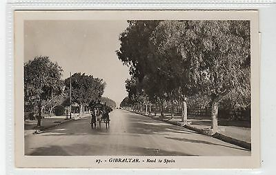 ROAD TO SPAIN: Gibraltar postcard (C28296)