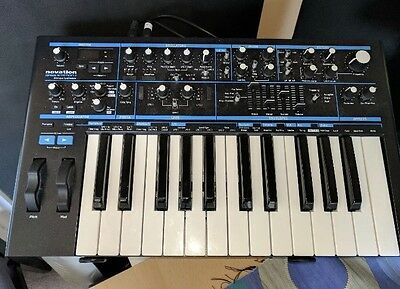 Novation Bass Station II (2) Analogue Monosynth [plus box and power supply]