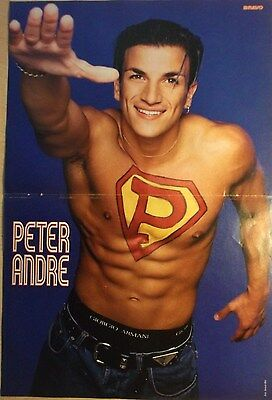 Bravo Boys 1 german poster andre shirtless singer boy band pop rock bravo