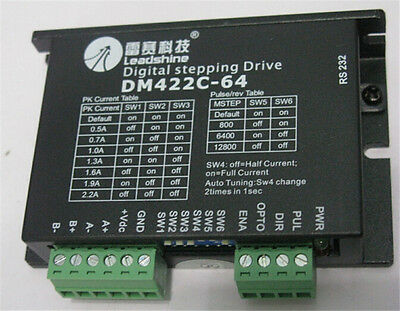 Leadshine Stepping Drive Microstep 1-256 Digital 2 phase DM422 for 39 42 motor