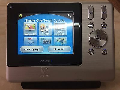 FreeShpping Logitech Harmony 1000 Advanced Touch Screen Universal Remote Control