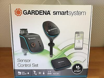 gardena smartsystem sensor control set 19102 20 bew sserung per app neu ovp eur 299 99. Black Bedroom Furniture Sets. Home Design Ideas