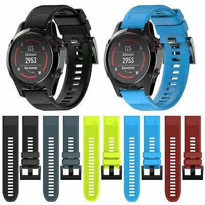 Silicone Replacement Watch Band Strap for Garmin Fenix 5 Sapphire/Forerunner 935