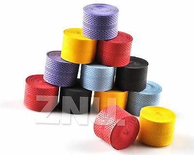 12PCS Anti-slip Racket Over Grip Roll Tennis Badminton Sports Squash Handle Tape