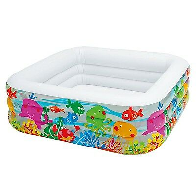 Intex Swim Clearview Aquarium Inflatable Pool Water Play Center for Kids New