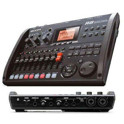 New In Box Zoom R8 8 Track Digital Multi Recorder USB Audio Interface Controller