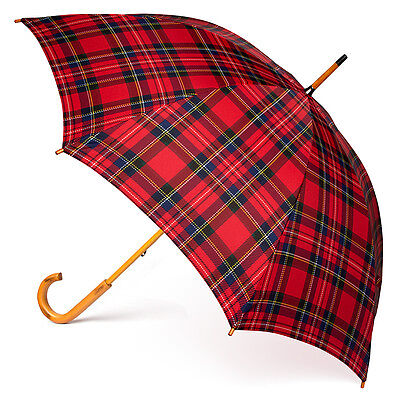 NEW Clifton Ladies' Red Royal Stewart Umbrella