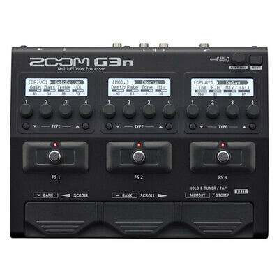 New In Box Zoom G3n Multi-Effects Pedal Amp Simulator for Electric Guitar