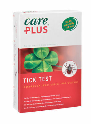 Care Plus Tick Test - for Borrelia Bacteria single use