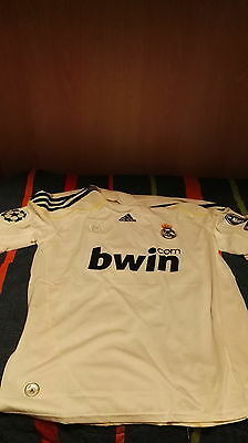 Maglia Real Madrid  Raul Champions League 2009 2010