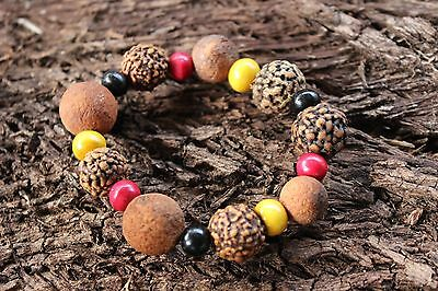 Quandong Jewellery Indigenous Aboriginal Bracelet Anklet - Munnibooa (Vitality)