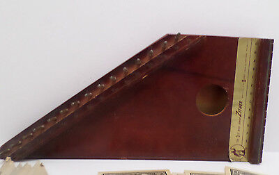 The Third Man Junior Zither with 4 Strings 10 Music Sheet and Instructions