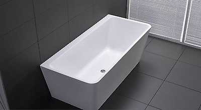 Wholesale Price!!!!! Square Back To Wall Freestanding Bath Tub 1500Mm $629
