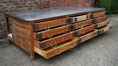 Bakers Drawer Unit, Work Bench, Butchers Block, Farmhouse Kitchen Island