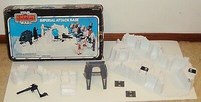VGC Vintage Star Wars ESB Imperial Attack Base Kenner (Boxed)
