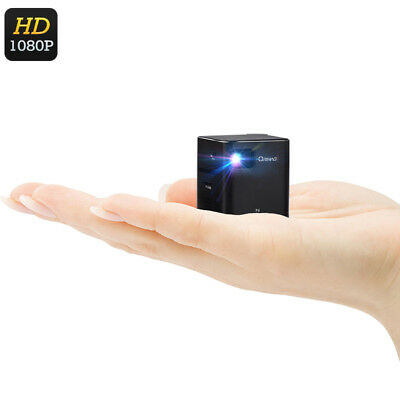 Pocket DLP Projector LED, Mini, Home, Theater, Portable, Wireless, USB, Battery