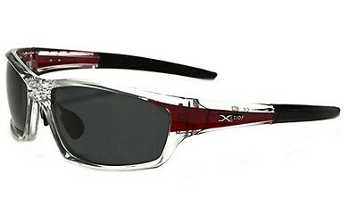 Men Sports Eyewear Gray Polarized Glasses Driving Outdoor UV Sunglasses NEW USA