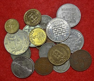 PORTUGAL LOT OF 20 UNC coins