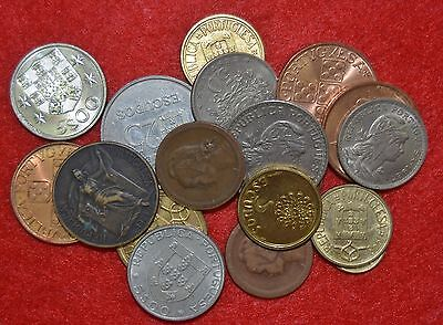 PORTUGAL / LOT OF 20 UNC coins