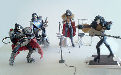 Kiss Music Band -  Ed.año 2000 -  Action Figures - Muñecos De Accion -