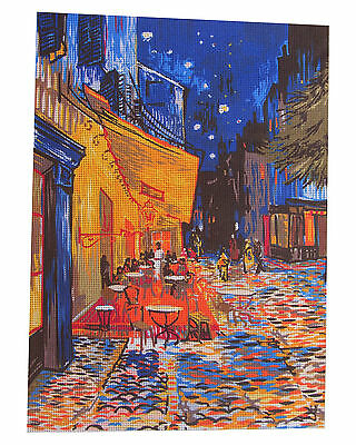 Canvas Tapestry Needlepoint Printed Gobelin Embroidery Van Gogh 929.569 Terrasse